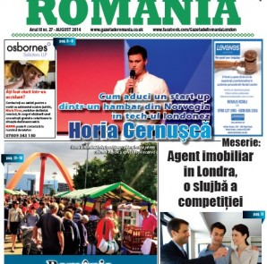 Gazeta de Romania - 27 - August 2014