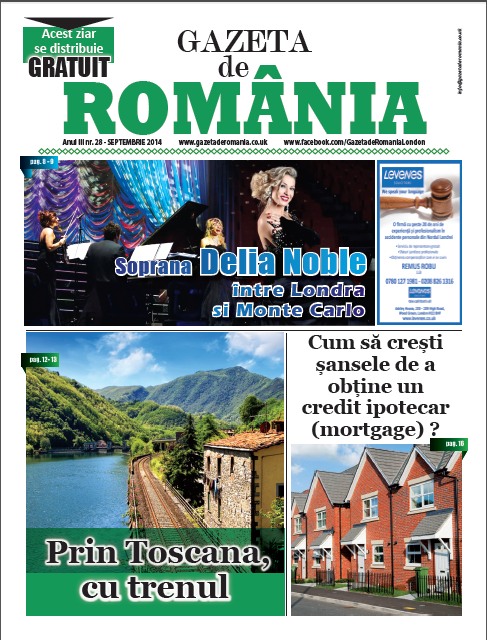 Gazeta de Romania 28 cover