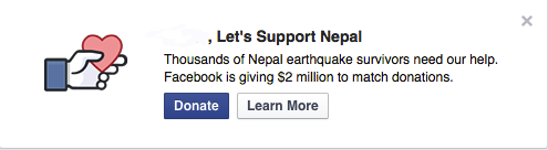 facebook support nepal
