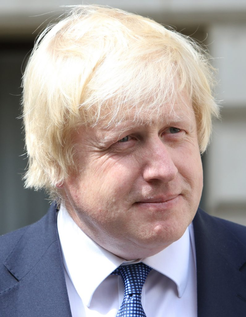 Boris Johnson, Secretary of State for Foreign and Commonwealth Affairs speaking to the media in London, 14 July 2016.
